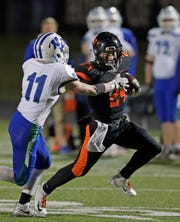 West De Pere junior Sam Mommaerts has rushed for more than 100 yards in each of the Phantoms' three playoff games.