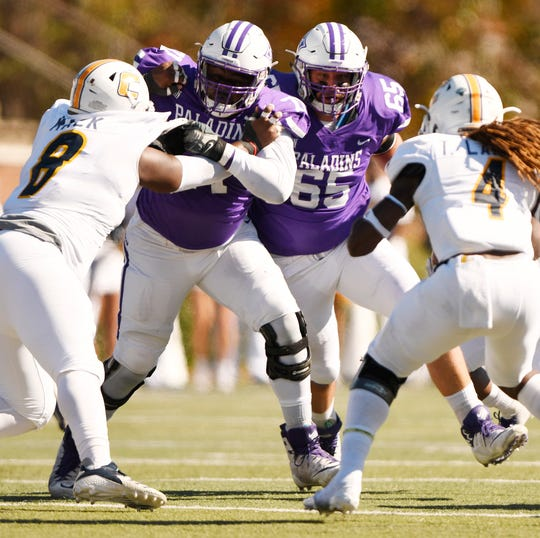 Furman hosts Chattanooga Saturday, November 3, 2018, at Paladin Stadium.