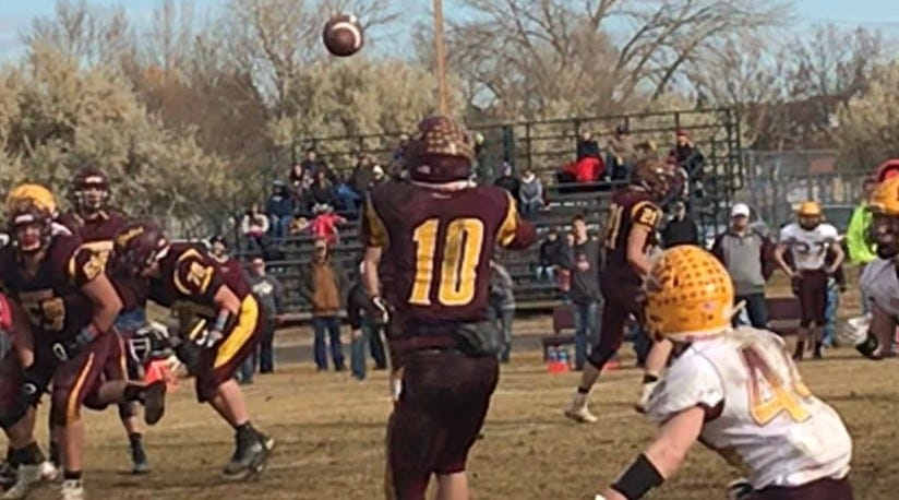 The Shelby Coyotes hosted Circle in the quarterfinals of the State Class C Eight-Man football playoffs Saturday.