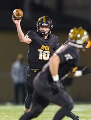 Avon QB Henry Hesson threw for 17 touchdowns last season.