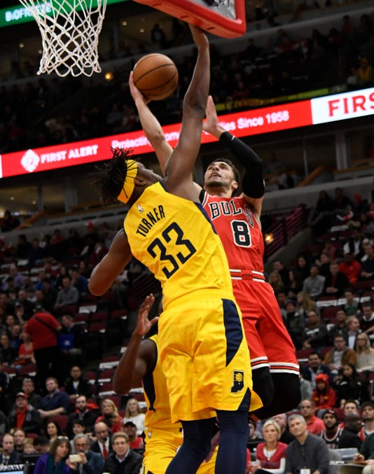 Nba Indiana Pacers At Chicago Bulls