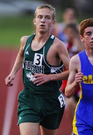 Caleb Kerr (shown in this 2011 file photo) earned a spot in the U.S. Olympic trials following his performance in Saturday's Monumental Marathon.