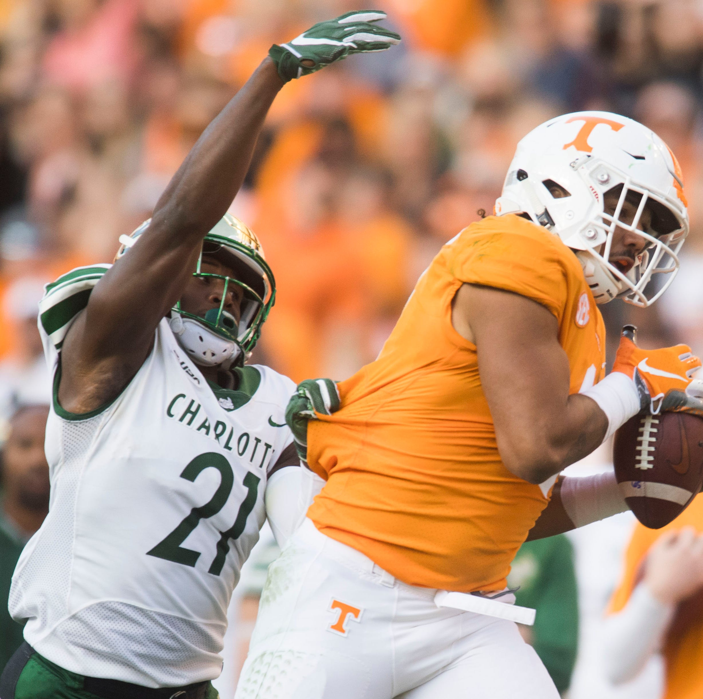 Will UT Vols coordinator Jim Chaney opt to pass more to Dominick Wood-Anderson?