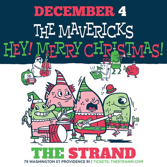 """Hey! Merry Christmas!"" by The Mavericks"