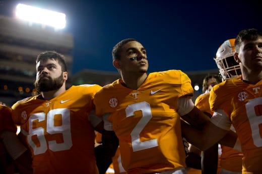 Tennessee football: Jarrett Guarantano of UT Vols among ...