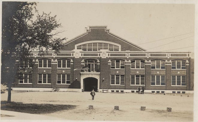 The Purdue University Armory, which opened in 1918, was first used to  teach soliders auto mechanics.