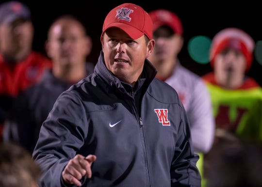 West Lafayette's Shane Fry received Class 3A coach of the year at the annual Griddy awards banquet for Indiana high school football.
