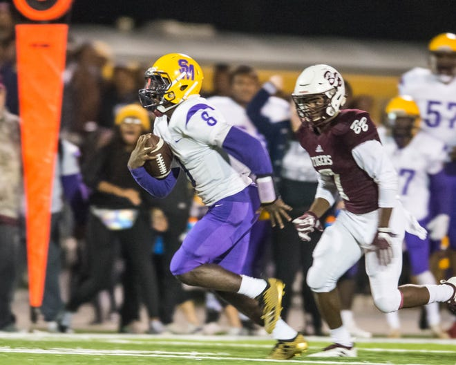 St. Martiville's Markavon Williams is the back end of the Tigers' explosive 1-2 offensive punch.