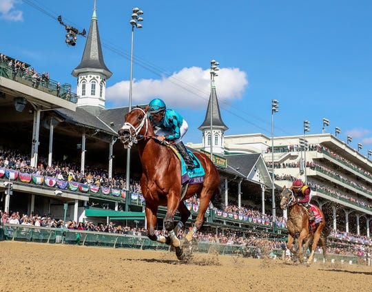 Churchill Downs provided a memorable backdrop this weekend for races like Saturday's Breeders' Cup Sprint, won by Roy H.