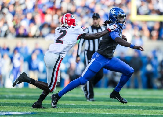 Kentucky Vs Georgia 2018 Action