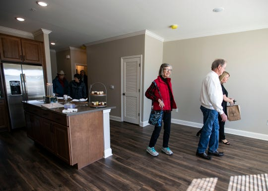 Thornwood Development hosts an open house to showcase their new one and two bedroom  apartments in Germantown TN., Saturday  November 3, 2018.
