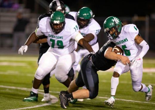 Memphis High School Football Rankings Entering Round 2 Of Tssaa