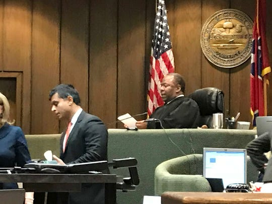 Criminal Court Judge Lee Coffee is presiding over the first-degree murder trial of Tremaine Wilbourn. He is charged with killing Memphis police officer Sean Bolton.