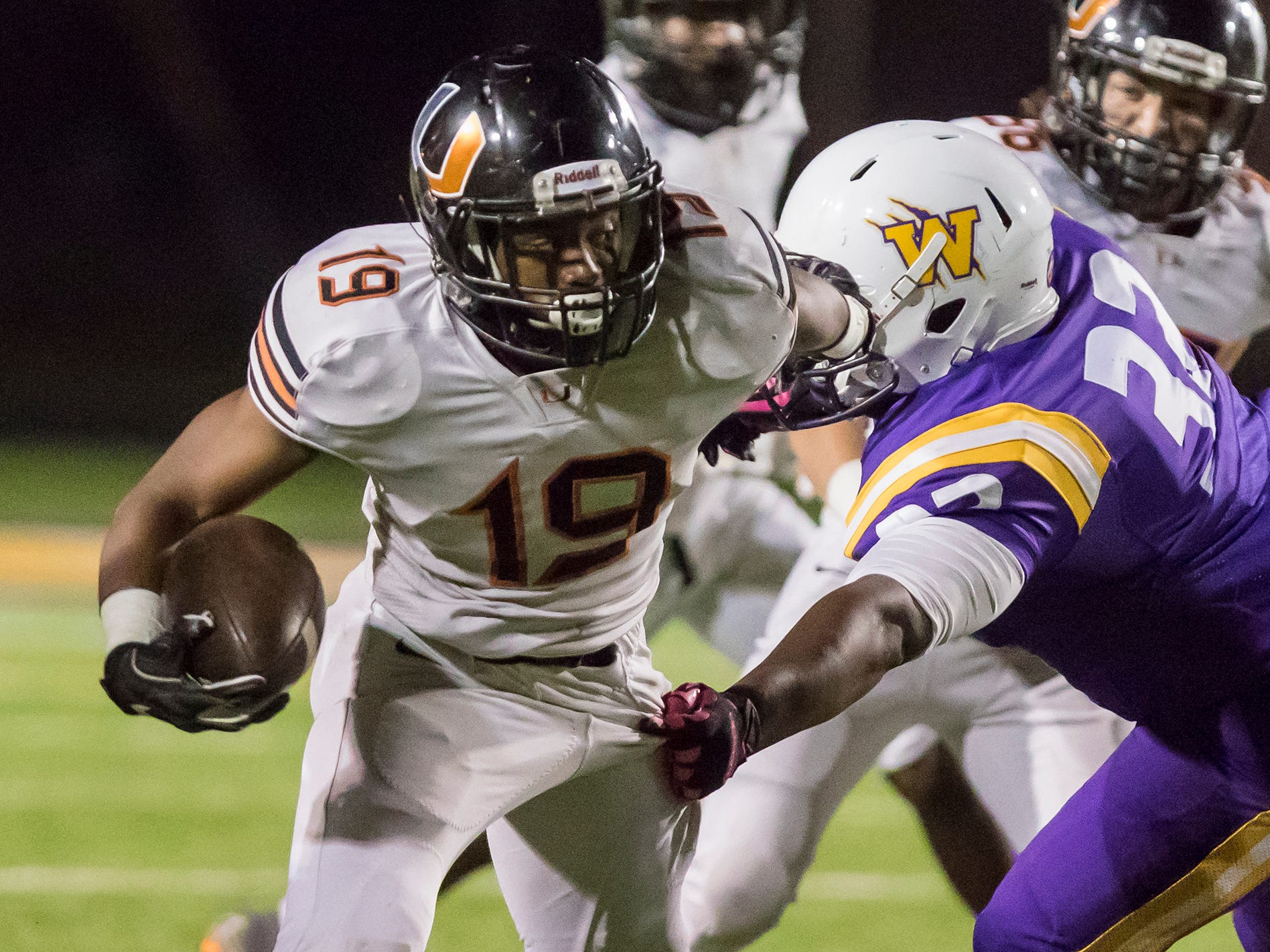 Union Parish defeated Wossman 50-45 in the waning seconds of the game at Wossman High School in Monroe, La. on Nov. 2.