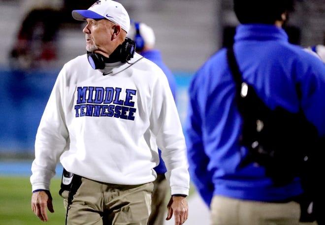 MTSU coach Rick Stockstill
