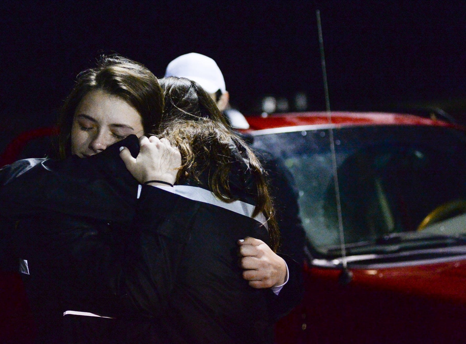 Jo Byrns High School fans after a loss to Lookout Valley to end their season at Jo Byrns High School on Friday, Nov. 2.