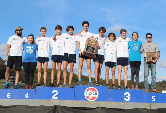 Siegel's boys won its second straight Large School cross country state title on Saturday at Percy Warner Park in Nashville.