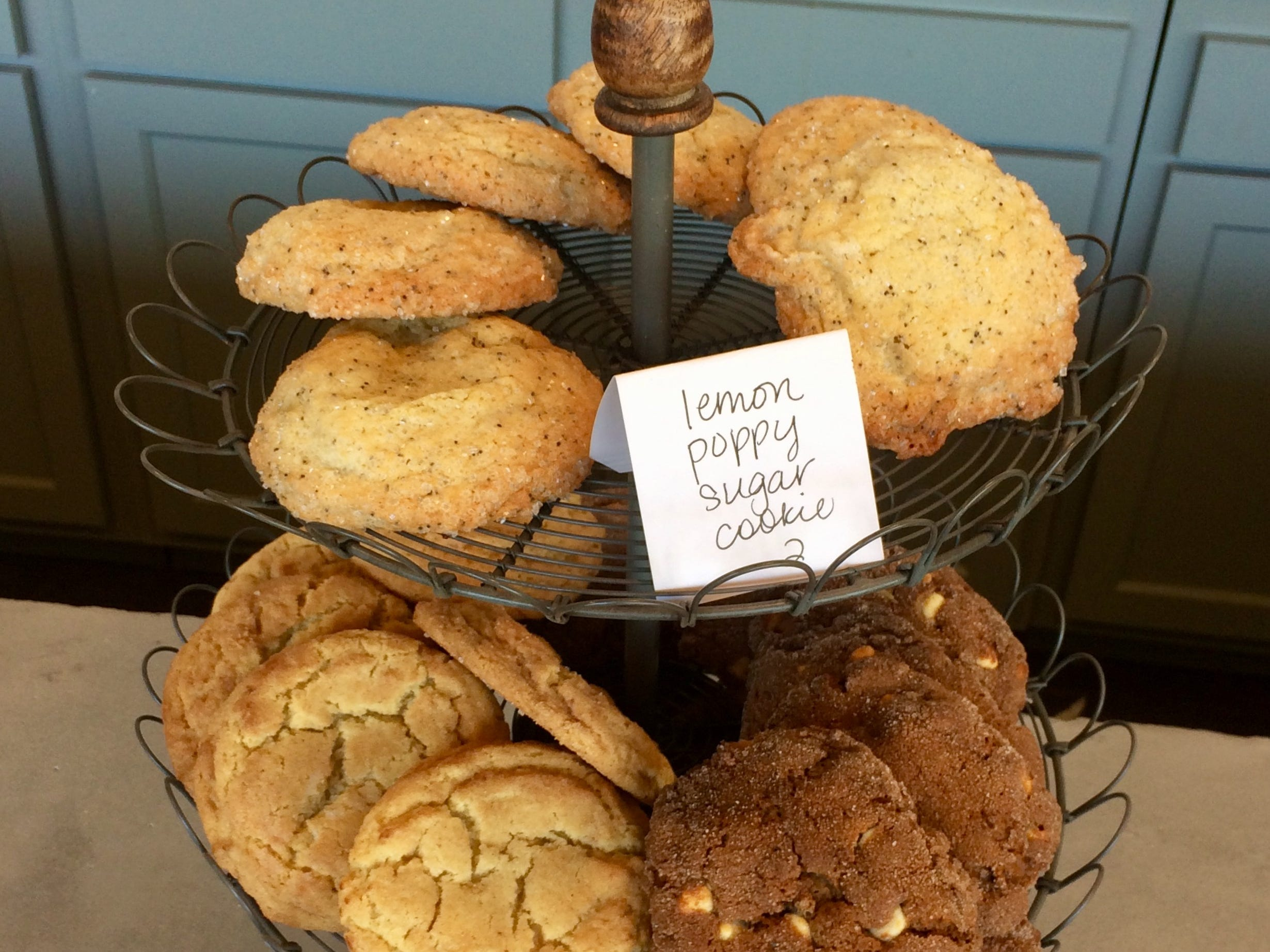 A selection of cookies at Slow Hand Coffee + Bakeshop in East Nashville.