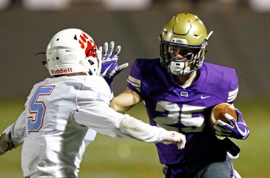CPA wide receiver Noah Henderson is the state's 28th ranked prospect.