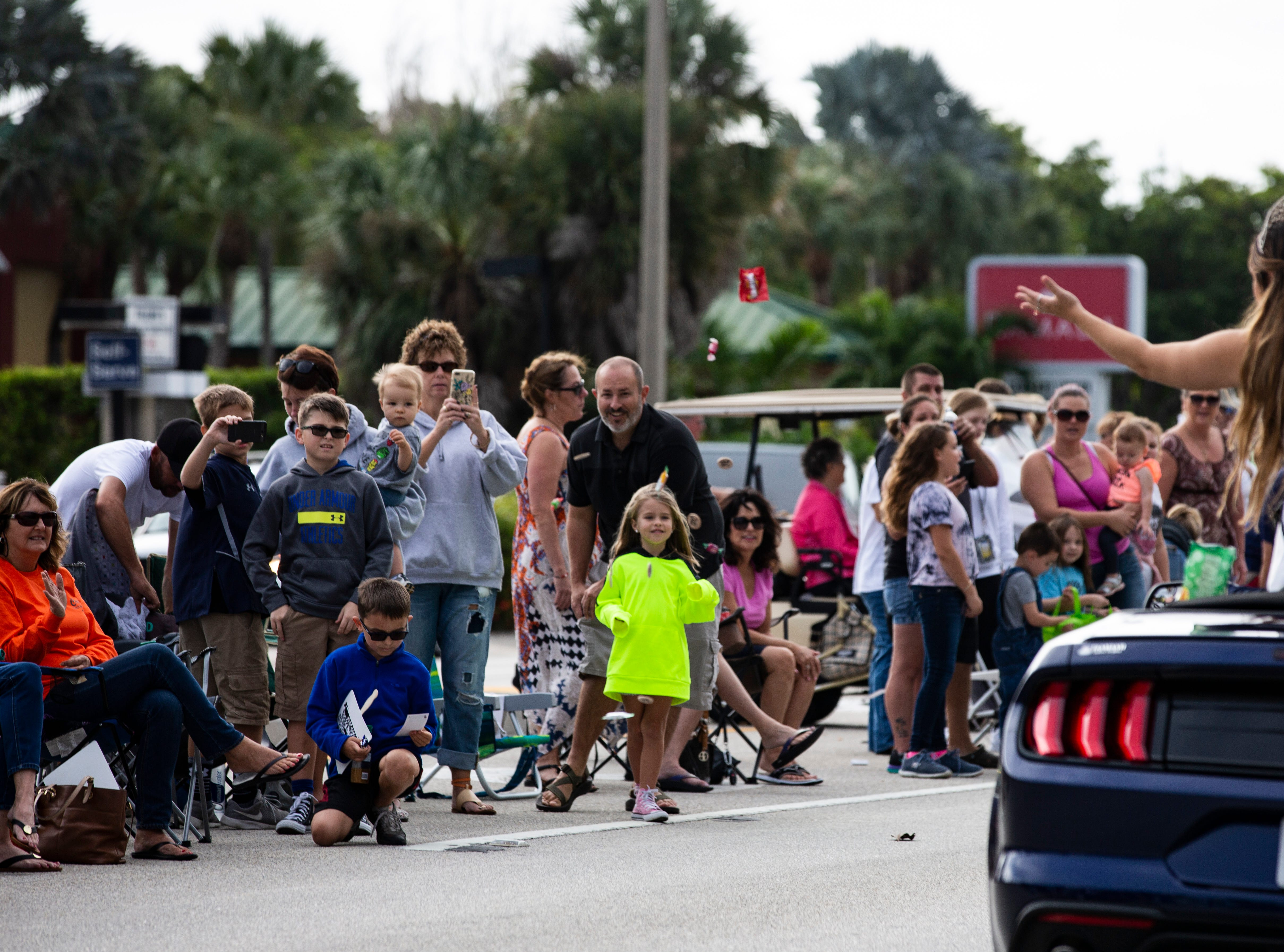 The 70th annual Swamp Buggy Parade hit Naples Saturday morning, Nov. 3, 2018. The parade featured past Swamp Buggy Queens, Naples High School marching band, racing buggies and Swampy - the race mascot, among other things.