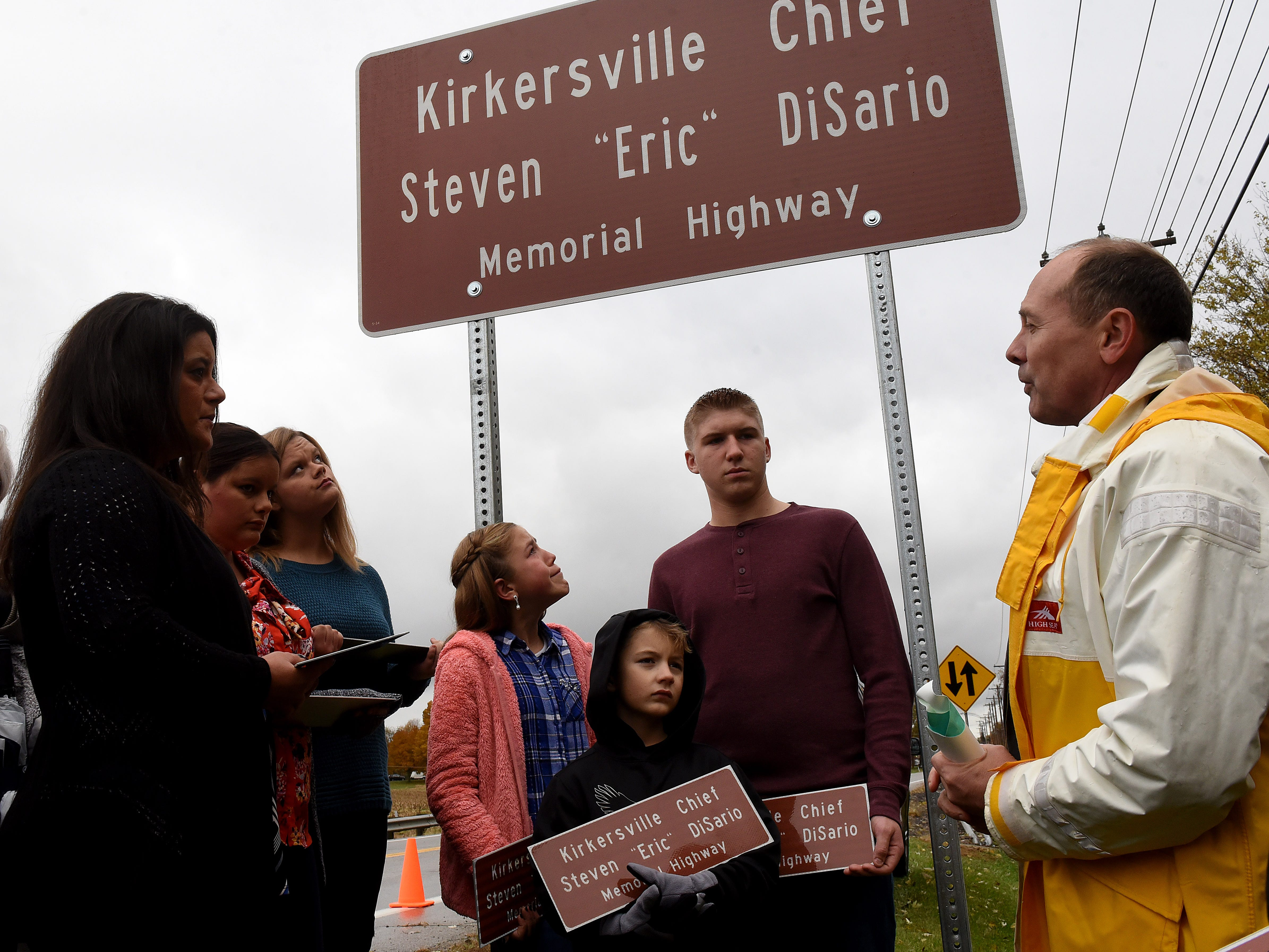 DiSario forever remembered with U.S. 40 naming