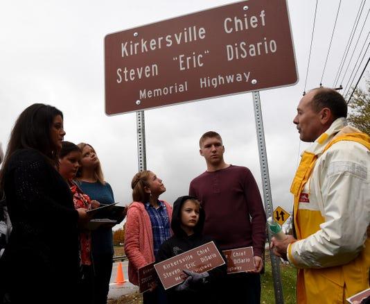 Kirkersville Disario Highway Memorial