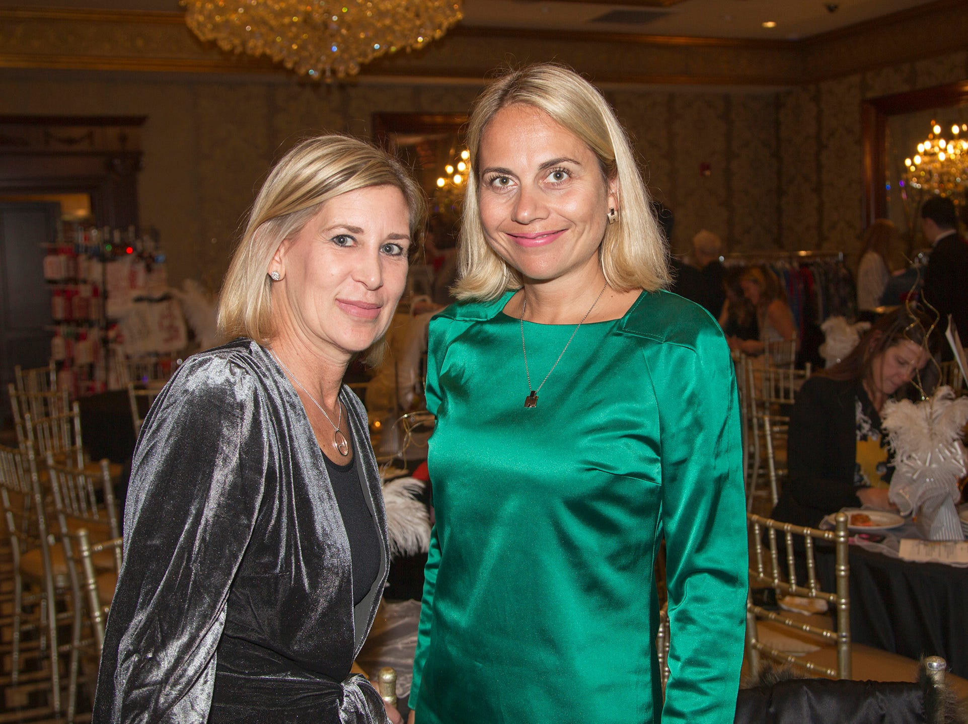 Amy Yormark, Maria Lyubman. Saddle River Day School sponsors Ladies Night Out at Seasons in Washington Twp.  11/01/2018