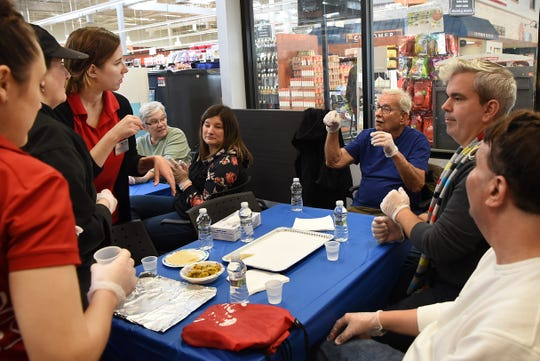 ShopRite of Wallington hosts a free, fall-themed cooking demo presented in sign language inWallington on Saturday November 3, 2018.