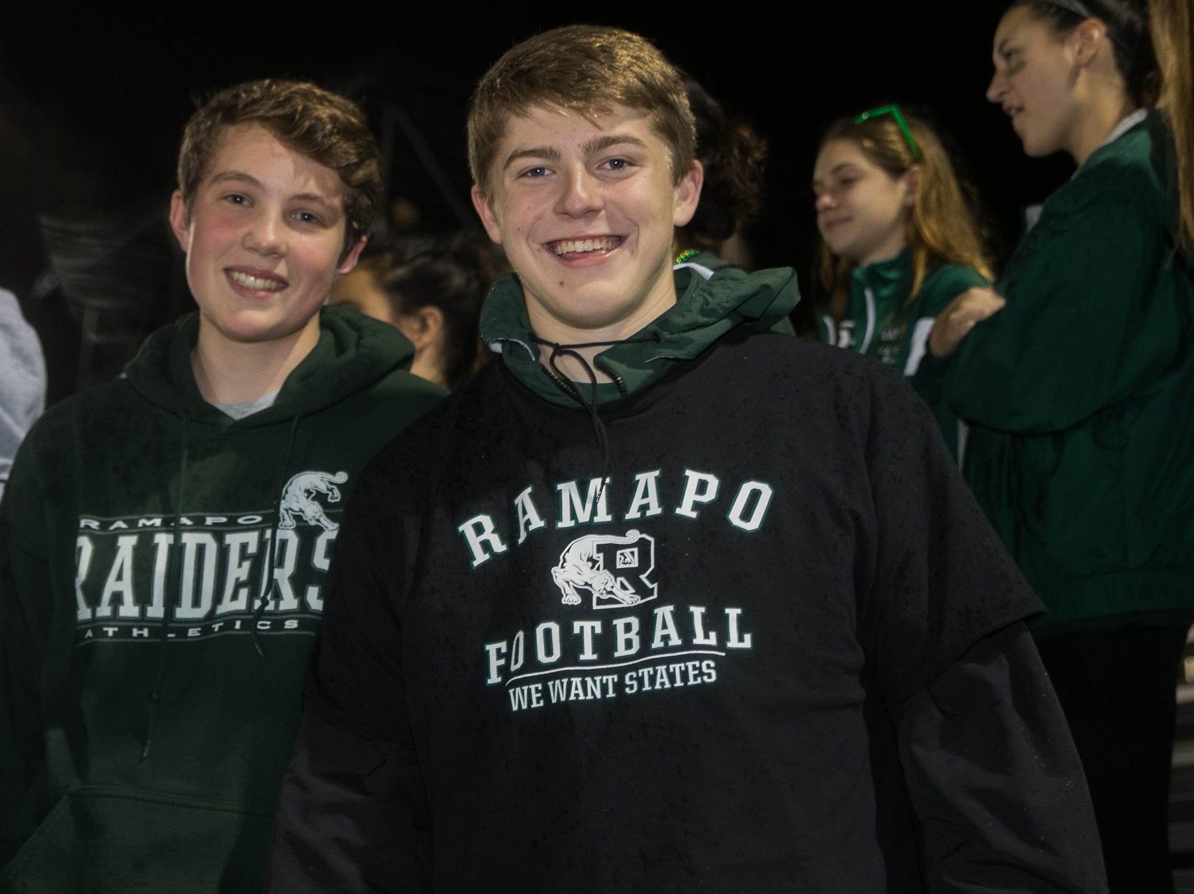 Northern Valley Demarest vs Ramapo High School Conference playoff game held at Ramapo High School in Franklin Lakes.11/02/2018