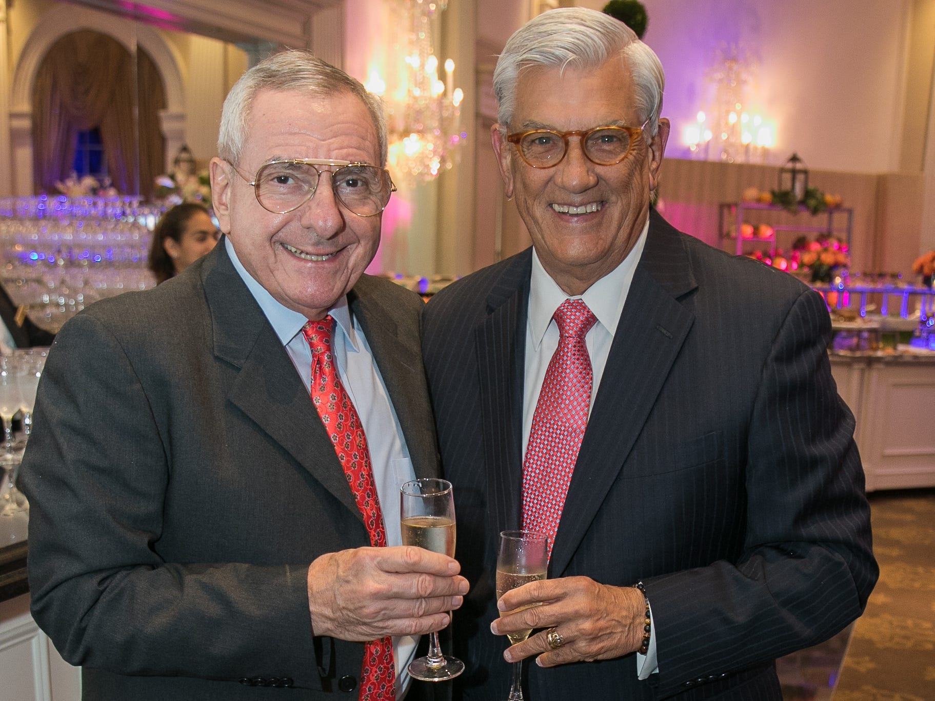Mauro Romita, George Leahy. Bergen Family Center celebrated 120 years of service with dinner and a silent auction at Th e Rockleigh Country Club.11/1/2018