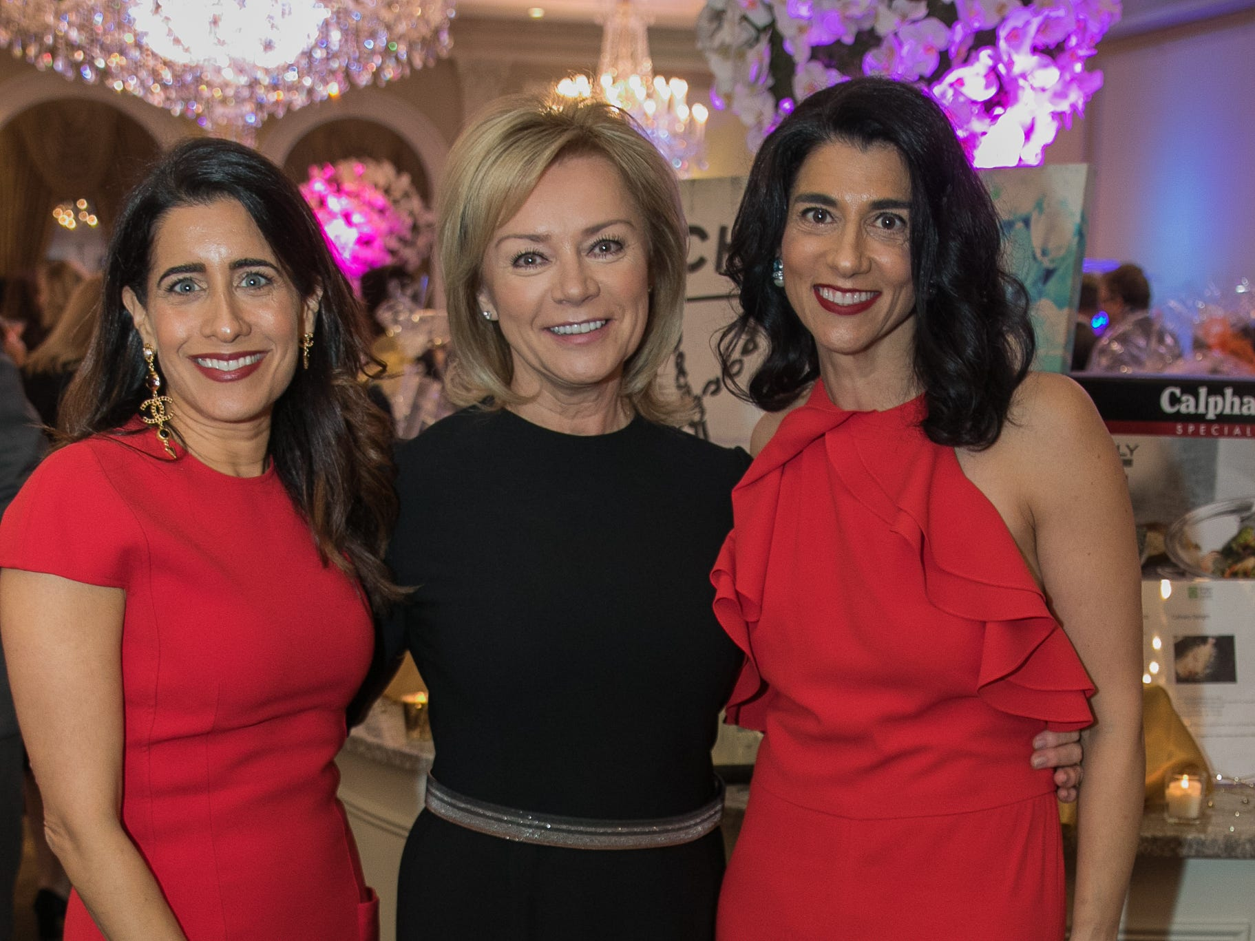 Aileen Agopran, Honoree Irina Kashan,  Ani Hovanessian. Bergen Family Center celebrated 120 years of service with dinner and a silent auction at Th e Rockleigh Country Club.11/1/2018