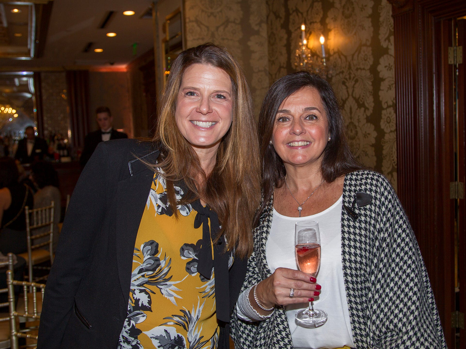 Elizabeth Sebastian, Mariangela Curley. Saddle River Day School sponsors Ladies Night Out at Seasons in Washington Twp.  11/01/2018