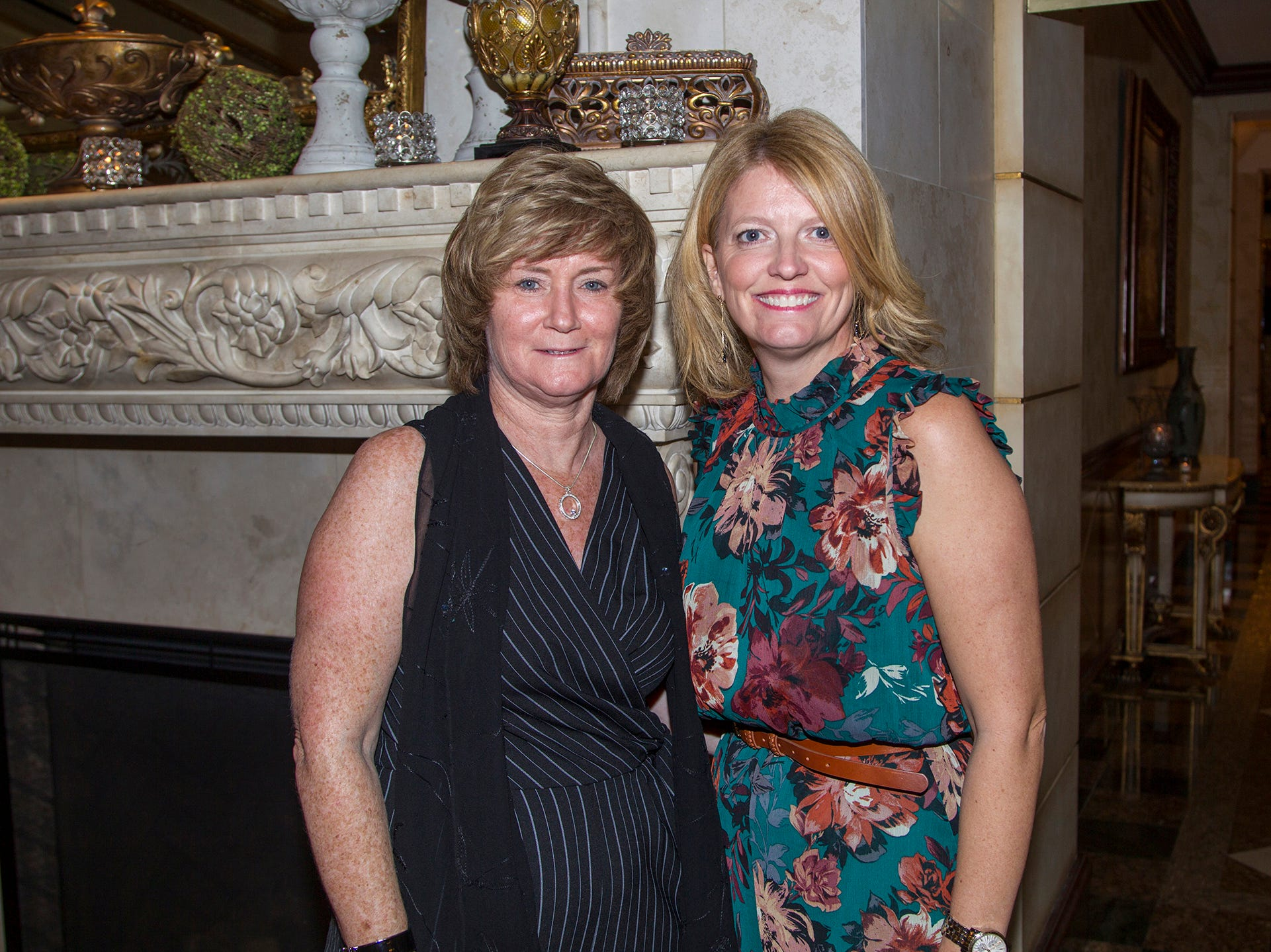 Tracy Ryan, Lesley Johnstone. Saddle River Day School sponsors Ladies Night Out at Seasons in Washington Twp.  11/01/2018