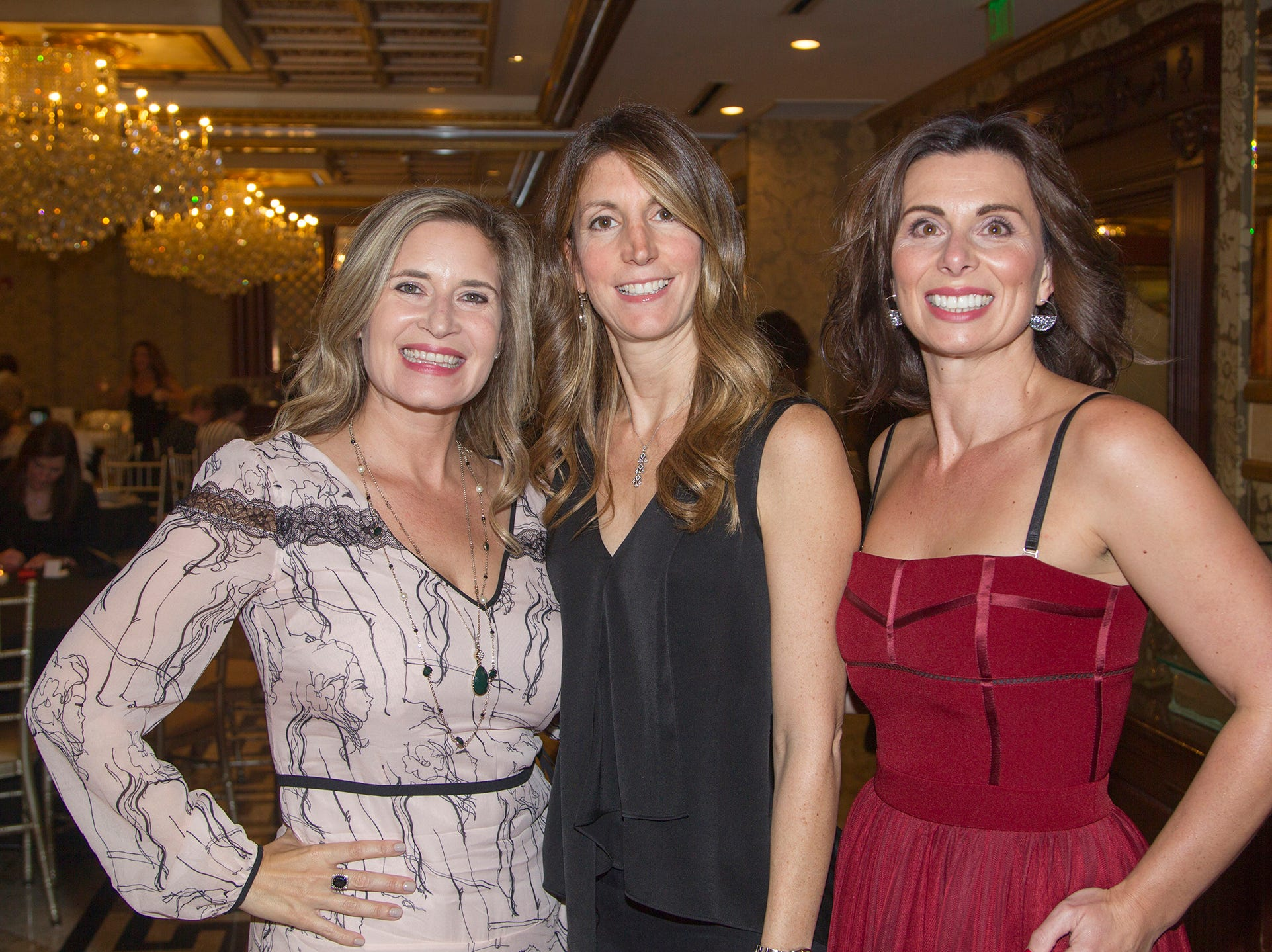 Amy Hesse, Alex Graffino, Vicki Davidson. Saddle River Day School sponsors Ladies Night Out at Seasons in Washington Twp.  11/01/2018