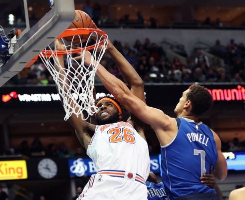 Nba New York Knicks At Dallas Mavericks