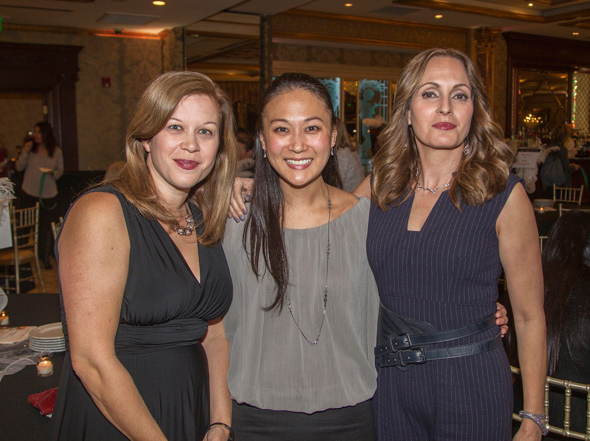 Laura Hallis, Judy Han, Robyn Matera. Saddle River Day School sponsors Ladies Night Out at Seasons in Washington Twp.  11/01/2018