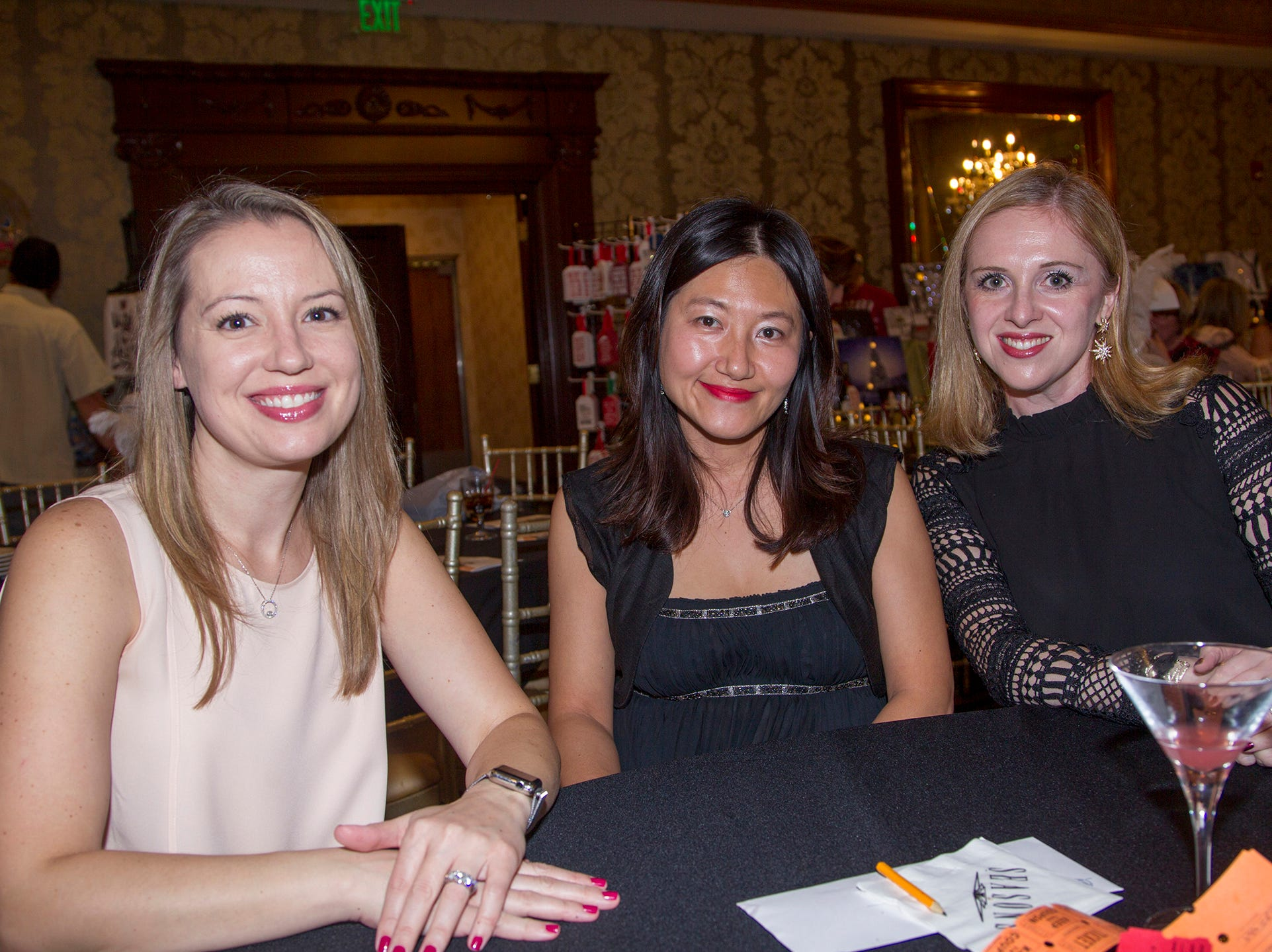 Allison Berkowitz, Susie Meon, Inna Berin. Saddle River Day School sponsors Ladies Night Out at Seasons in Washington Twp.  11/01/2018