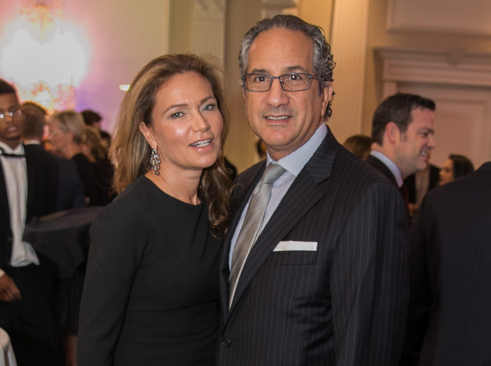 Terri and Fadi Chartouni. Bergen Family Center celebrated 120 years of service with dinner and a silent auction at Th e Rockleigh Country Club.11/1/2018