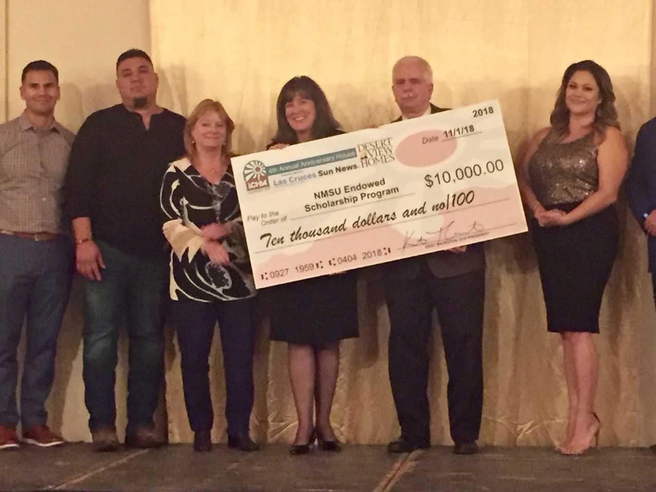 NMSU Endowed Scholarship program, $10,000
