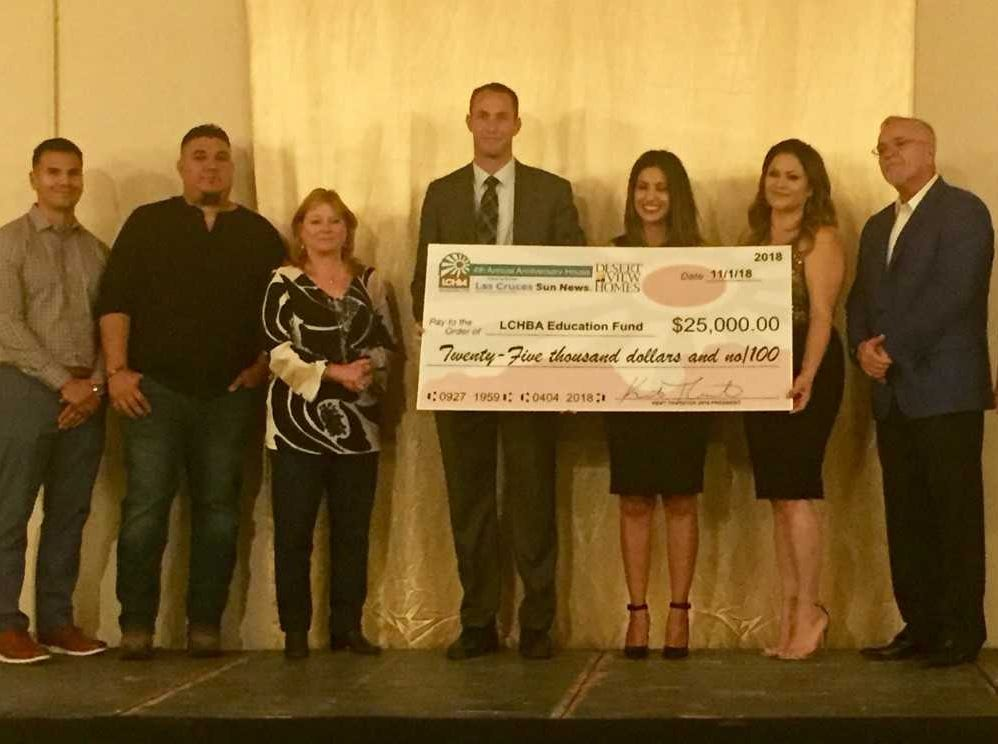 Las Cruces Home Builders Education Fund, $25,000