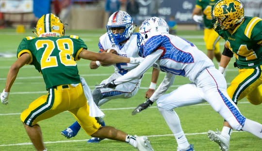 Mayfield and Las Cruces play for the 55th time on Friday at Aggie Memorial Stadium.