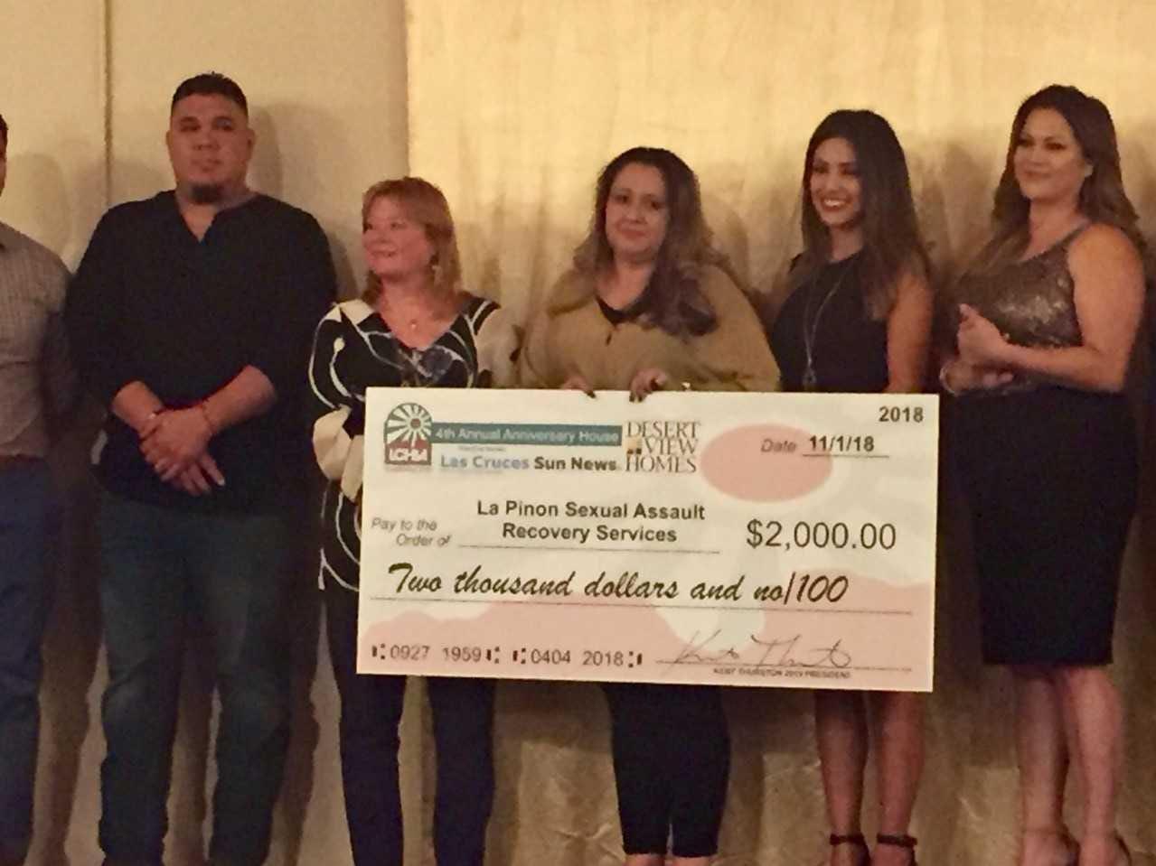 La Piñon Sexual Assault Services, $2,000