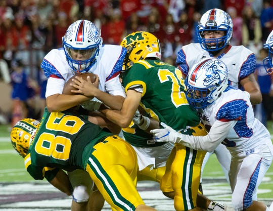 Las Cruces and Mayfield meet for the 56th time on Friday night at Aggie Memorial Stadium.