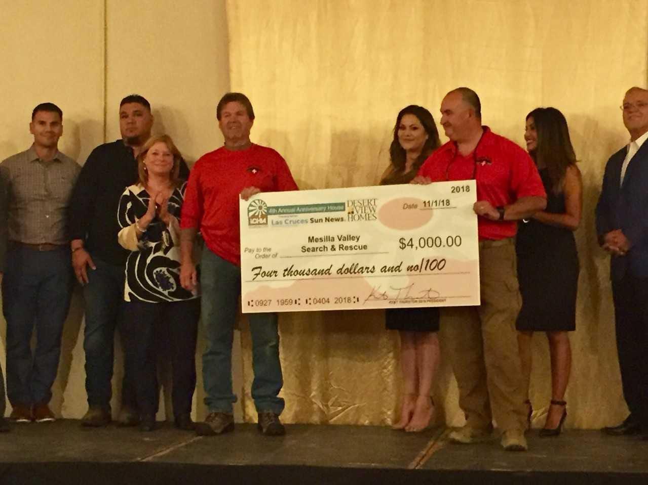 Mesilla Valley Search and Rescue, $4,000