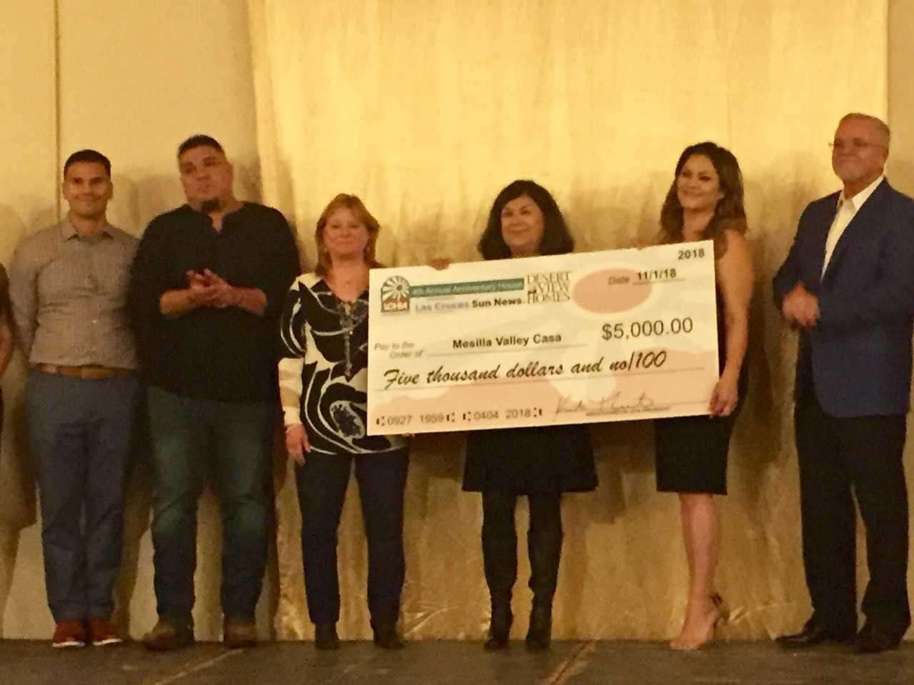 Mesilla Valley CASA, $5,000