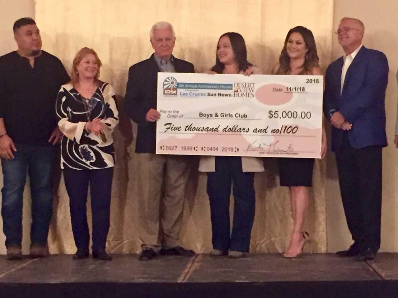Boys and Girls Club, $5,000