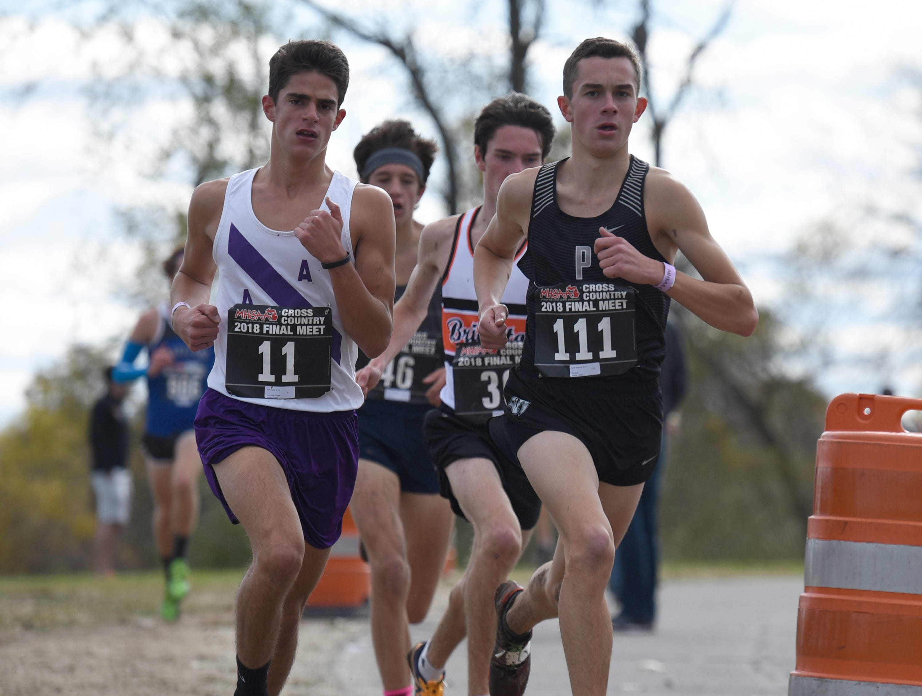 Plymouth boys win state Division 1 cross country championship