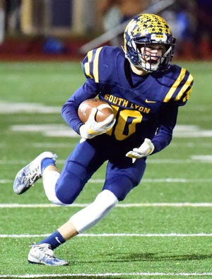Keegan McGrath and his South Lyon teammates had their dream season end with Friday night's loss to Walled Lake Western in the Division 2 district championship game.