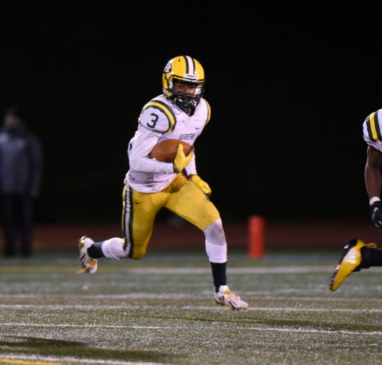 Farmington Harrison's Roderick Heard was the hero of the day, tossing the winning touchdown on a failed field goal attempt on the game's last play.