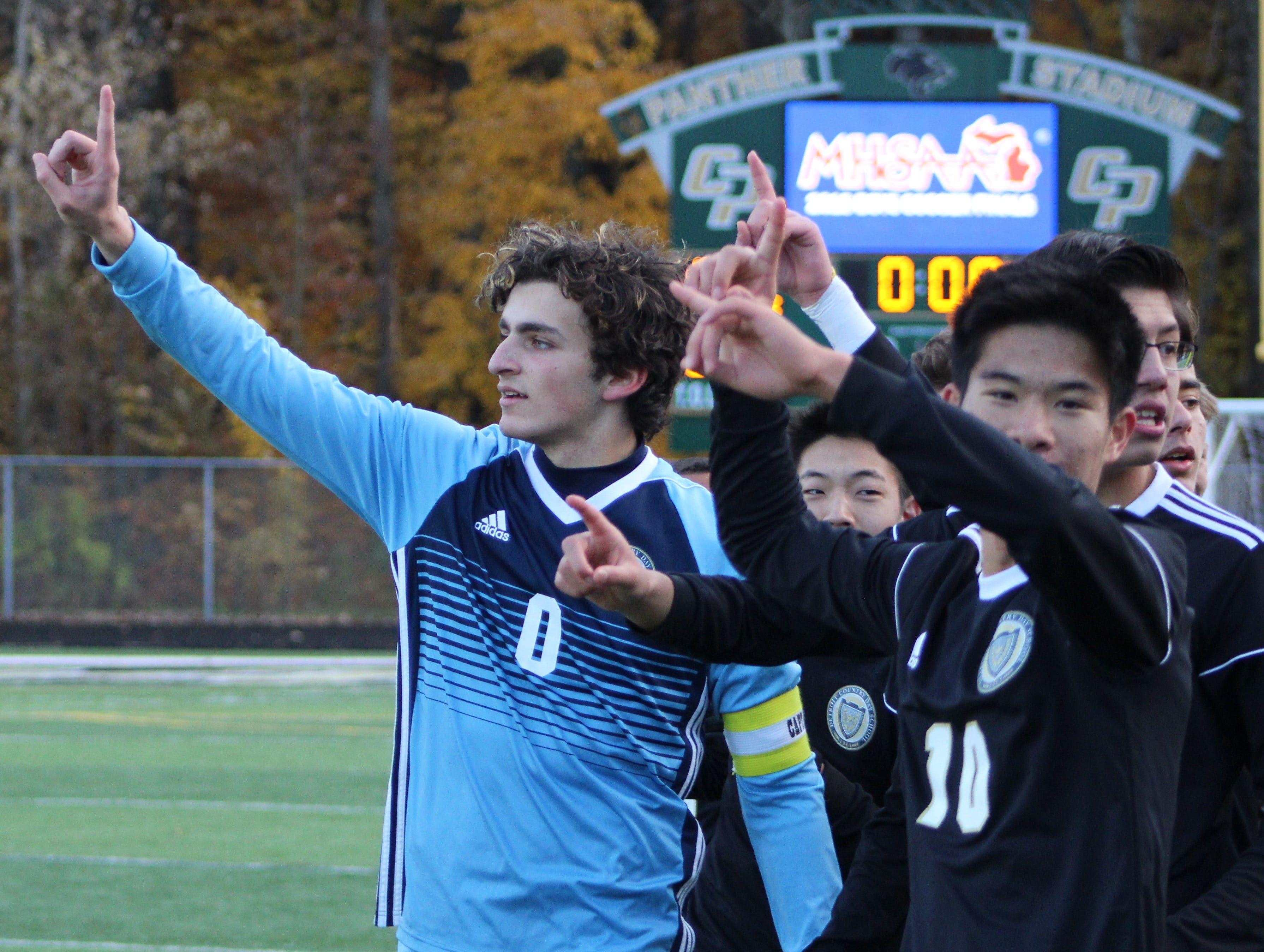 Country Day soars to D-2 state soccer crown behind huge effort from goalie Dougherty